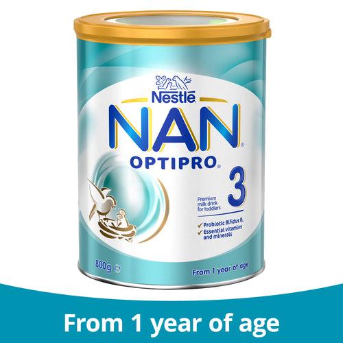 Nestlé NAN OPTIPRO 3, Toddler Milk Drink From 1 Year – 800g