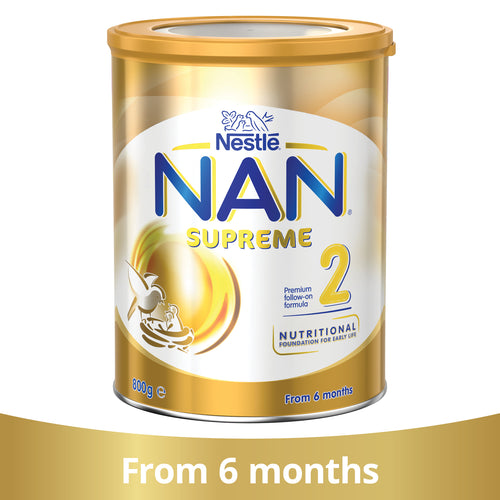 Nestlé NAN SUPREME 2, Follow-On Formula Powder From 6 Months – 800g
