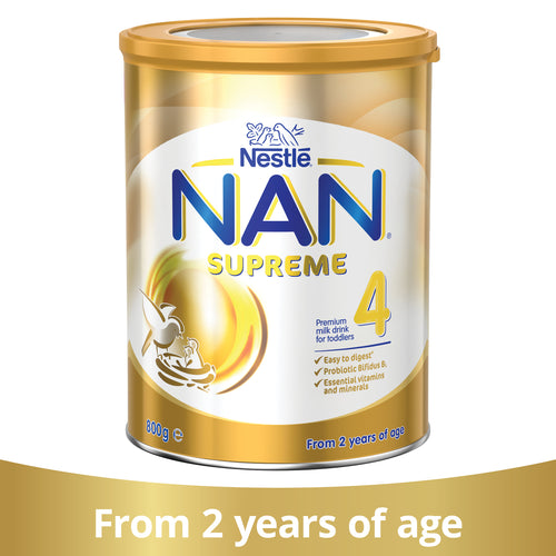 Nestlé NAN SUPREME 4, Toddler  Milk Drink From 2 Years – 800g