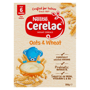 Nestlé CERELAC Oats & Wheat Infant Cereal – 200g