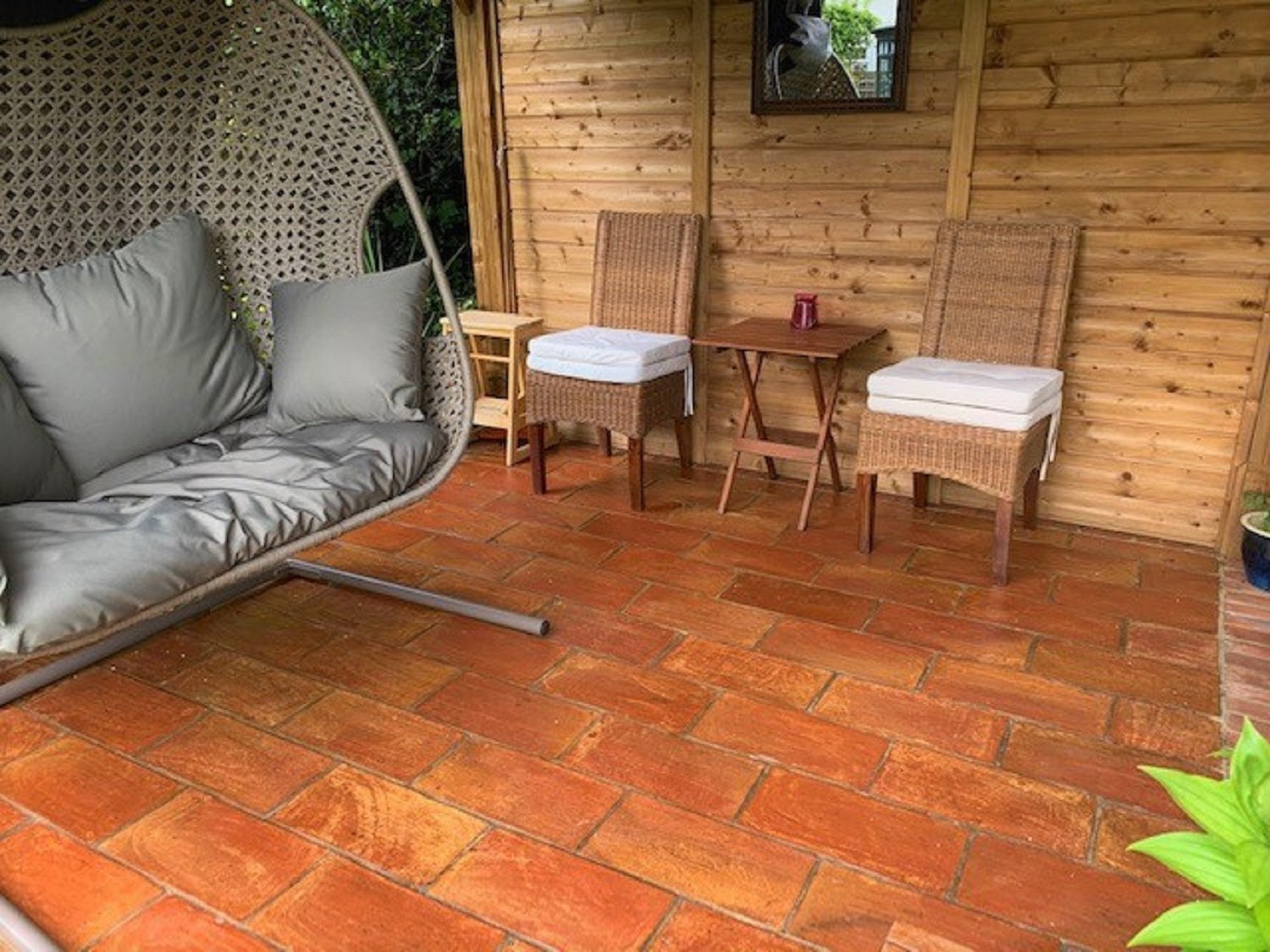 Rustic Presealed Rectangular Terracotta 200x400x20mm