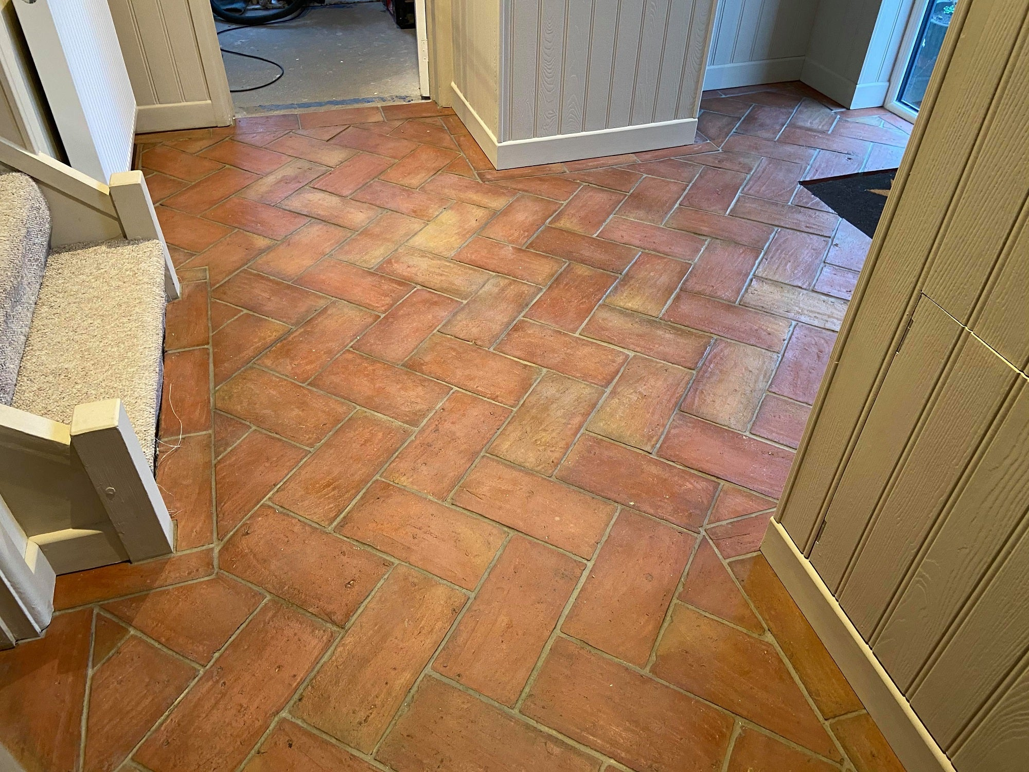 Rustic Rectangular Terracotta 150x300x20mm