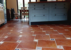 Rustic Unsealed Square Terracotta 250x250x20mm (Delivery 26th to 28th October)