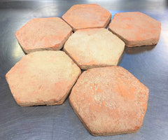 Bengal Reclaimed Style Terracotta Hexagonal 150x150x20mm