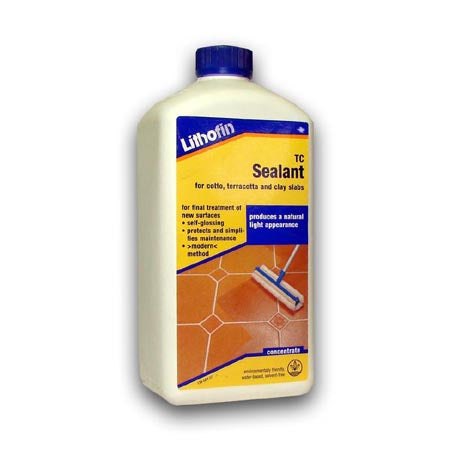 Lithofin TC Sealant Terracotta Sealer - 1 Litre