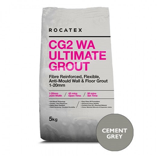 Ultimate CG2 Grout Cement Grey 5kg