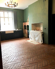 Rustic Unsealed Terracotta Parquet Tiles 75x300x20mm (Delivery late March)