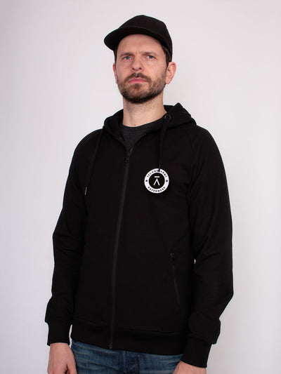 Techno Army Zip Hoodie