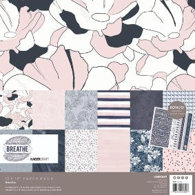 Kaisercraft Breathe Paper Pack with bonus sticker sheet 12x12
