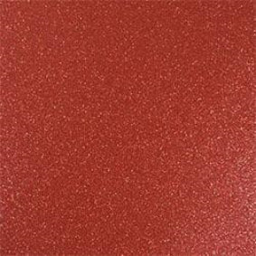 Siser Easy PSV Glitter - Brick Red 30cm x 20cm (self adhesive)