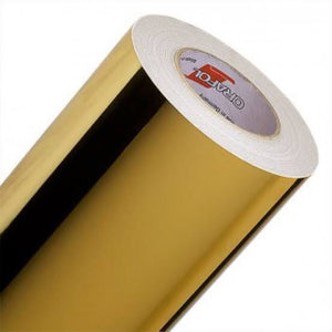 ORACAL 352 - Gold Mirror Chrome Double Sided 30cm x 20cm