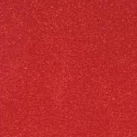 Siser Easy PSV Glitter - Flame Red 30cm x 1m Roll (self adhesive)