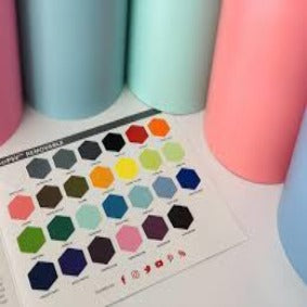 Siser EasyPSV Permanent Colour Pack -  10 x 1m Rolls