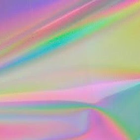 STAHLS Effect Film Holographic Rainbow HTV A4