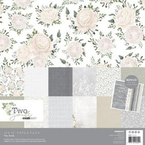 Kaisercraft Two Souls Paper Pack with bonus sticker sheet 12x12