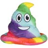 Poop Emoticon Party Hat - Rainbow Colors - Emoji Shirt