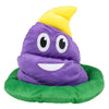 Poop Emoticon Party Hat - Mardi Gras Colors - Emoji Shirt