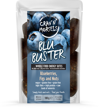 Load image into Gallery viewer, Blu Buster - Blueberry Energy Bites 100g