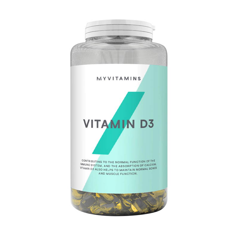 Vitamina D3 (180 Softgels)