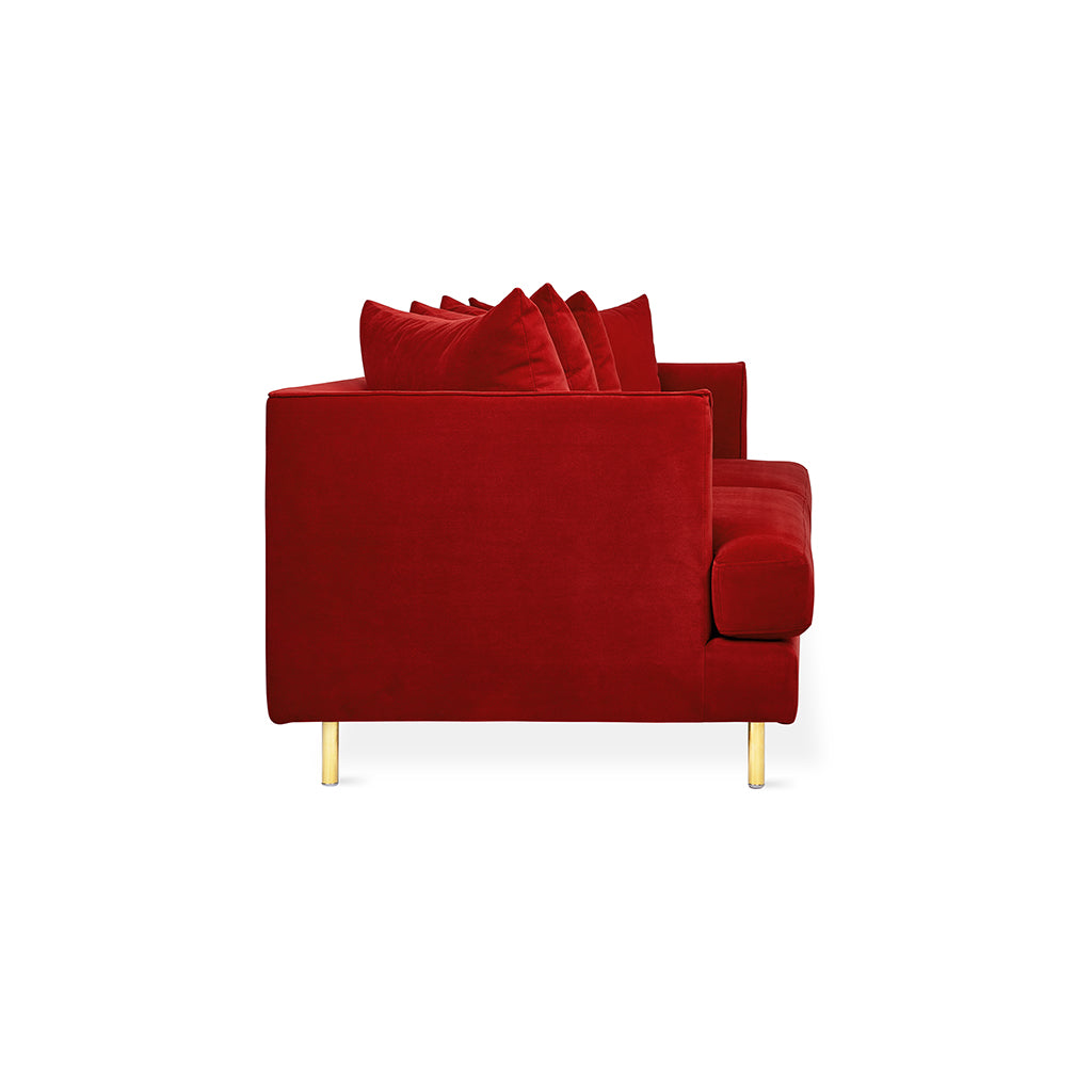 Margot Sofa | Velvet Sangria