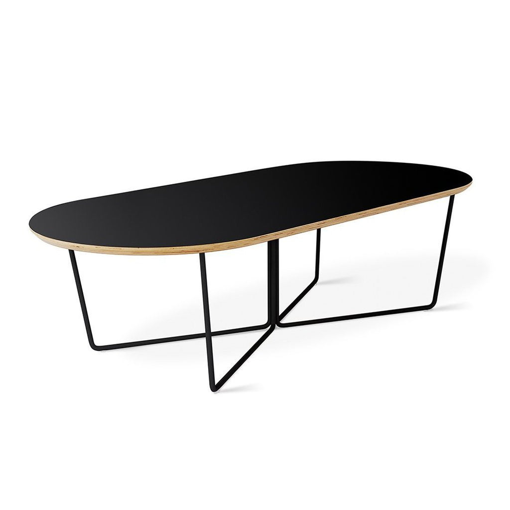 Array Coffee Table Oval | Black