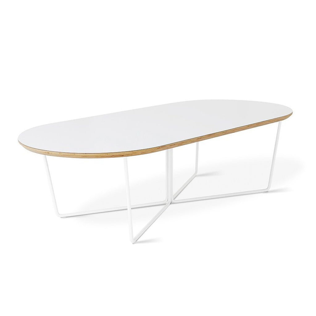 Array Coffee Table Oval | White