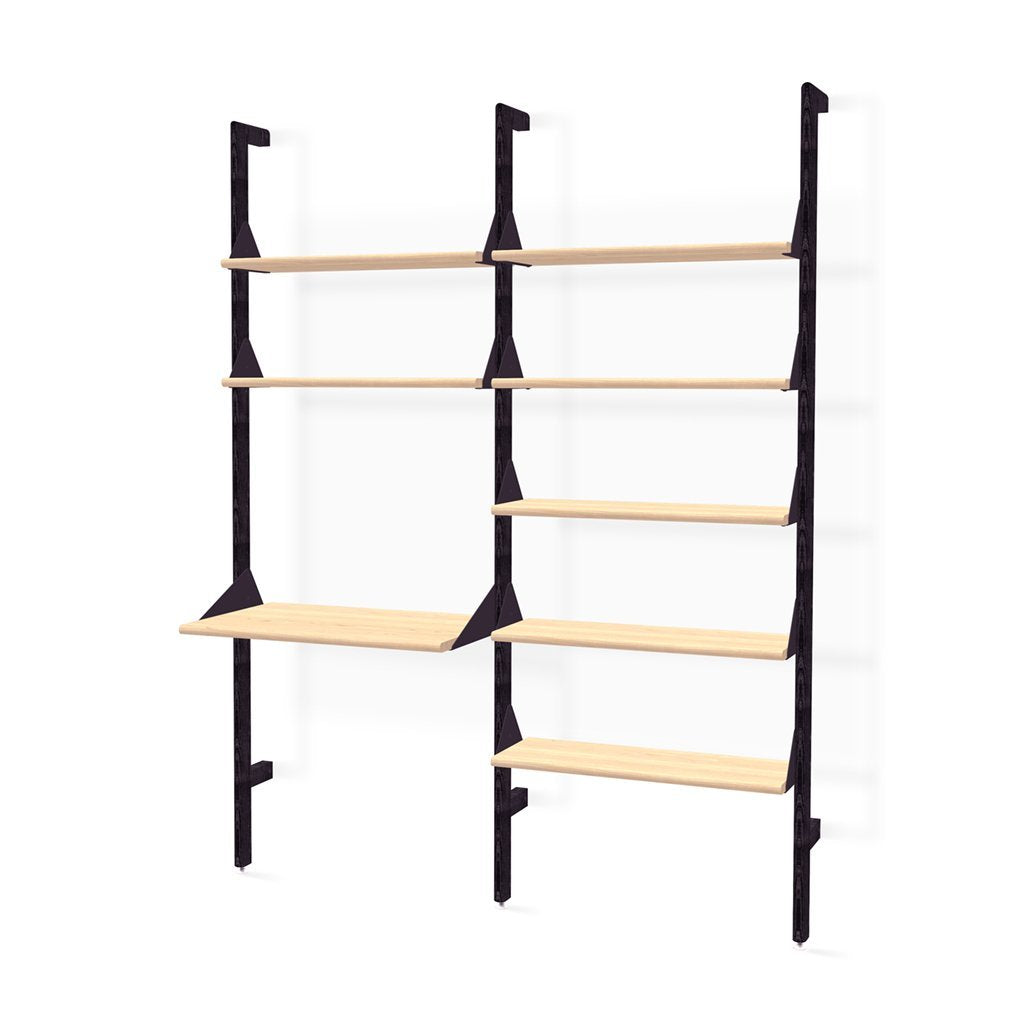 Branch-2 Shelving Unit with Desk