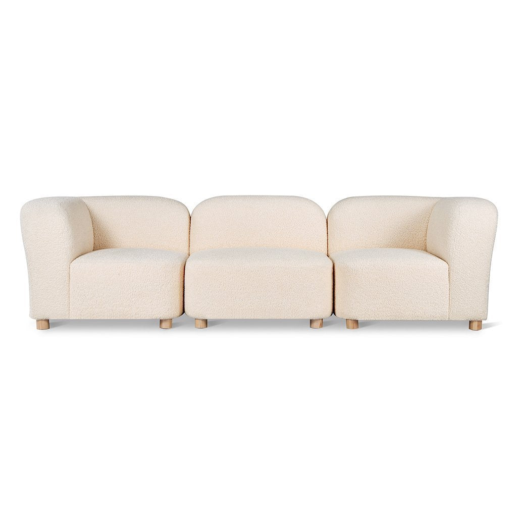 Circuit Modular 3-pc Sofa | Himalaya Cloud