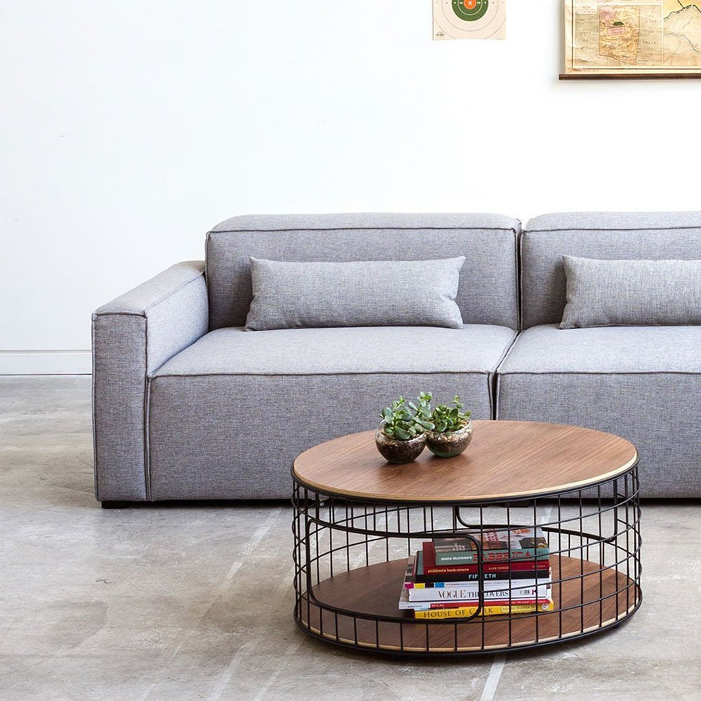 Mix Modular 3-PC Sofa | Parliament Stone