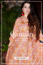 Load image into Gallery viewer, Orange Frill Dress - Qamsin