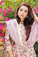 Load image into Gallery viewer, Nerine Floral Chanderi Suit Set - Qamsin