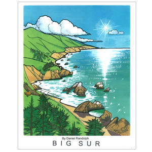 Big Sur Travel Posters
