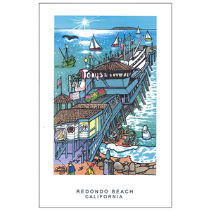Redondo Beach Travel Posters