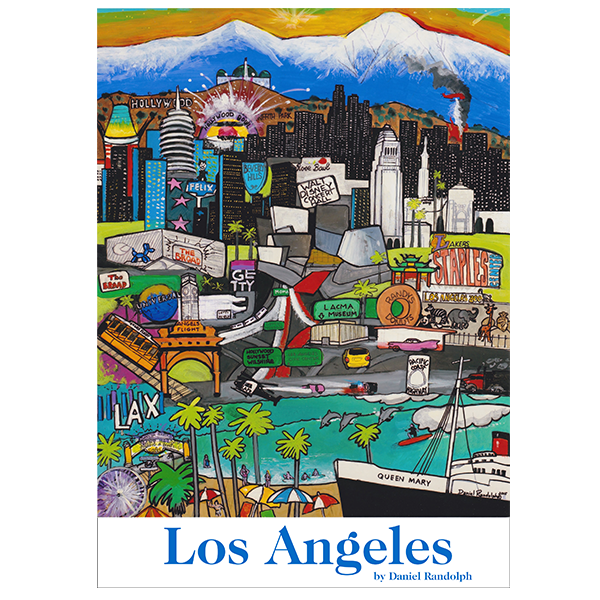 Los Angeles Travel Posters