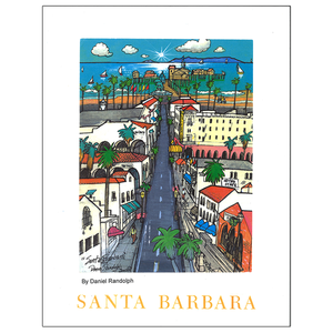 Santa Barbara Travel Posters