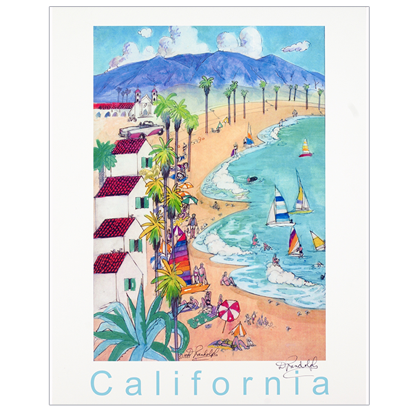 California Travel Posters