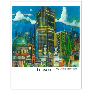 Tucson Arizona Travel Poster