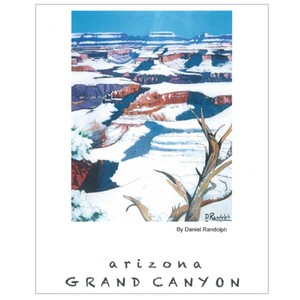 Grand Canyon Hopi Point Travel Poster