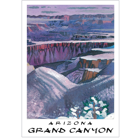 Grand Canyon Arizona Travel Poster