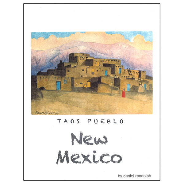 Daniel Randolph Travel Poster New Mexico 17