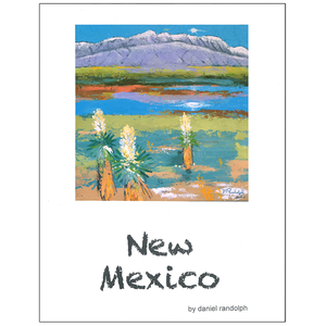 Daniel Randolph Travel Poster New Mexico 6