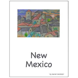 Daniel Randolph Travel Poster New Mexico 7