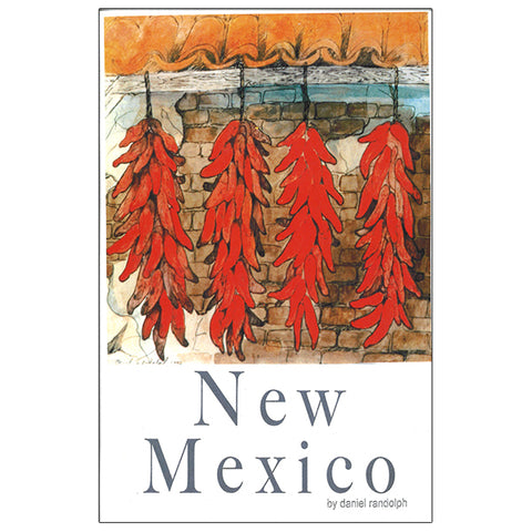 Daniel Randolph Travel Poster New Mexico chili peppers