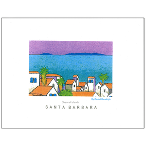 Santa Barbara Channel Islands poster