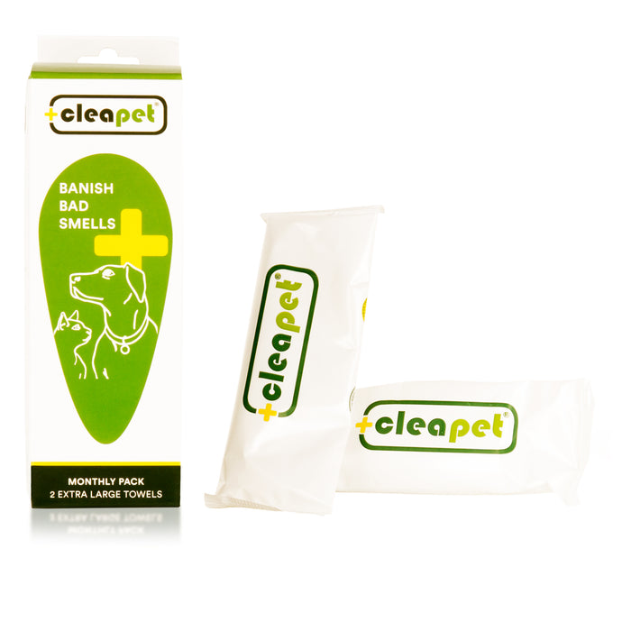 Cleapet Wet Towel - Monthly Pack
