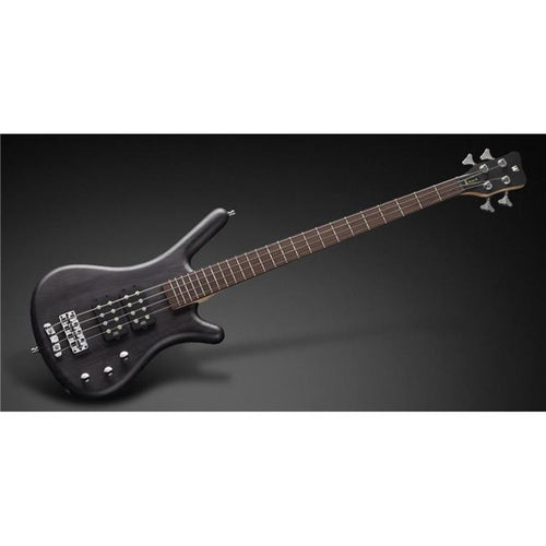 Warwick - RB Corvette 4 Electric Bass Guitar Black Satin with Bag