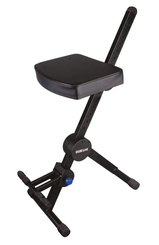 Stool - Quik Lok DX-749 Musicians Stool w/ Backrest