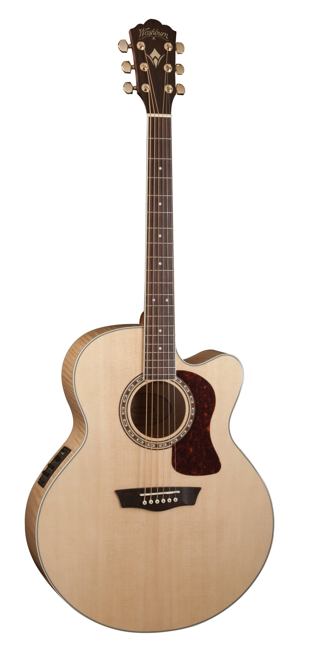Washburn J40SCE Heritage 40 Series Jumbo Acoustic Electric Guitar