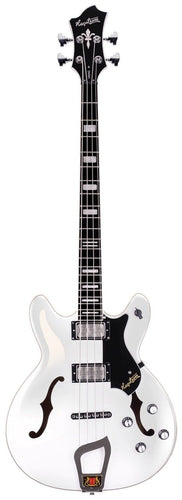 Hagstrom Viking Electric Bass Guitar White Gloss