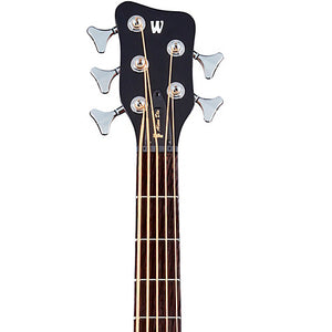 Warwick - Alien Deluxe Thinline 5-String Electric and Acoustic Bass Guitar